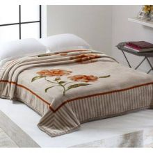 Cobertor Home Designer Casal Belissima Bege - Corttex