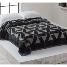 Cobertor Home Designer Casal Gregório Cinza - Corttex
