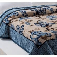 Cobertor Home Designer Casal Marin Azul - Corttex
