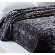 Cobertor Home Designer Casal Noah Cinza - Corttex