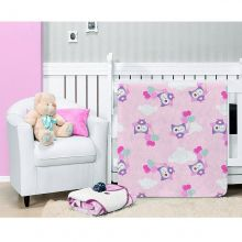 Cobertor Microfibra Toque de Seda Baby Flannel Paty 90cm x 1,10m - Etruria
