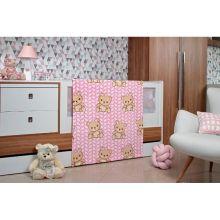 Cobertor Microfibra Toque de Seda Baby Flannel Tricot Rosa - Etruria