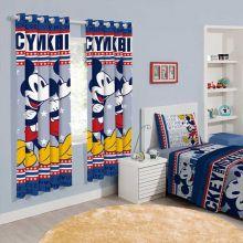 Cortina Infantil Mickey Mouse 2,00m x 1,80m - Santista