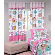Cortina Infantil Princess Power 2,00m x 1,80m - Santista