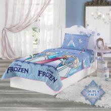 Edredom Dupla Face Solteiro Frozen - Lepper
