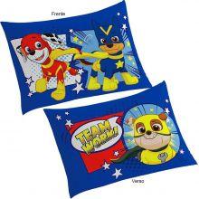 Fronha Infantil para Travesseiro Patrulha Canina Azul - Lepper