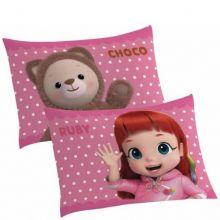 Fronha Infantil para Travesseiro Rainbow Ruby - Lepper