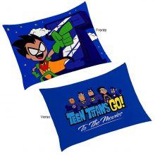 Fronha Infantil para Travesseiro Teen Titans Go - Lepper