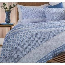 Jogo de Lençol 4 peças Casal Tulio/Azul Home Design - Corttex