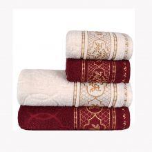 Jogo de toalhas Imperial Arabesque 4 Peças - Atlântica