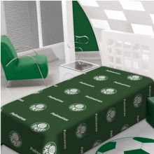 Manta de Microfibra Soft Solteiro Palmeiras - Jolitex
