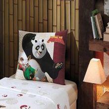 Porta Travesseiro Kung Fu Panda - Dohler