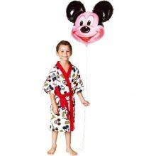 Roupão Felpudo Infantil Mickey Mouse - Lepper