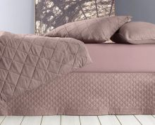 Saia Para Cama Box Onix Rose King - Altenburg