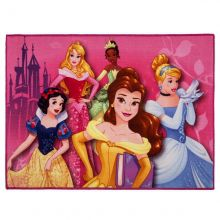 Tapete Infantil Disney Princess 1,10m x80cm - Corttex