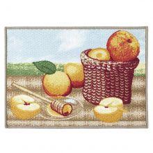 Tapete Kitchen Dolce Vitta 70 cm x 50 cm Frutti - Corttex