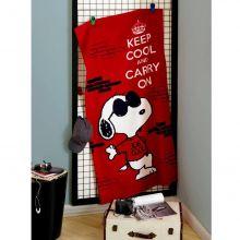 Toalha Banhão Aveludada Estampada Snoopy - Dholer