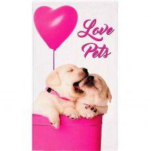 Toalha de Banho Aveludada Pet Love- Lepper