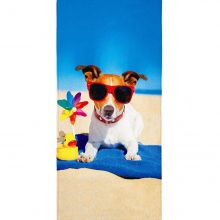 Toalha de Banho Aveludada Summer Dog - Lepper