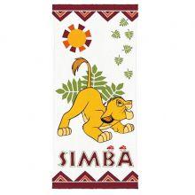 Toalha de Banho Felpuda Rei Leão Simba - Lepper