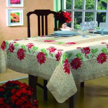 Toalha de mesa Bella Mesa 1,40m x 1,40m Floral - Raner