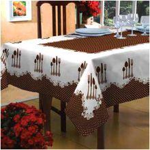 Toalha de mesa Classic 1,40m x 2,10m Talheres - Raner
