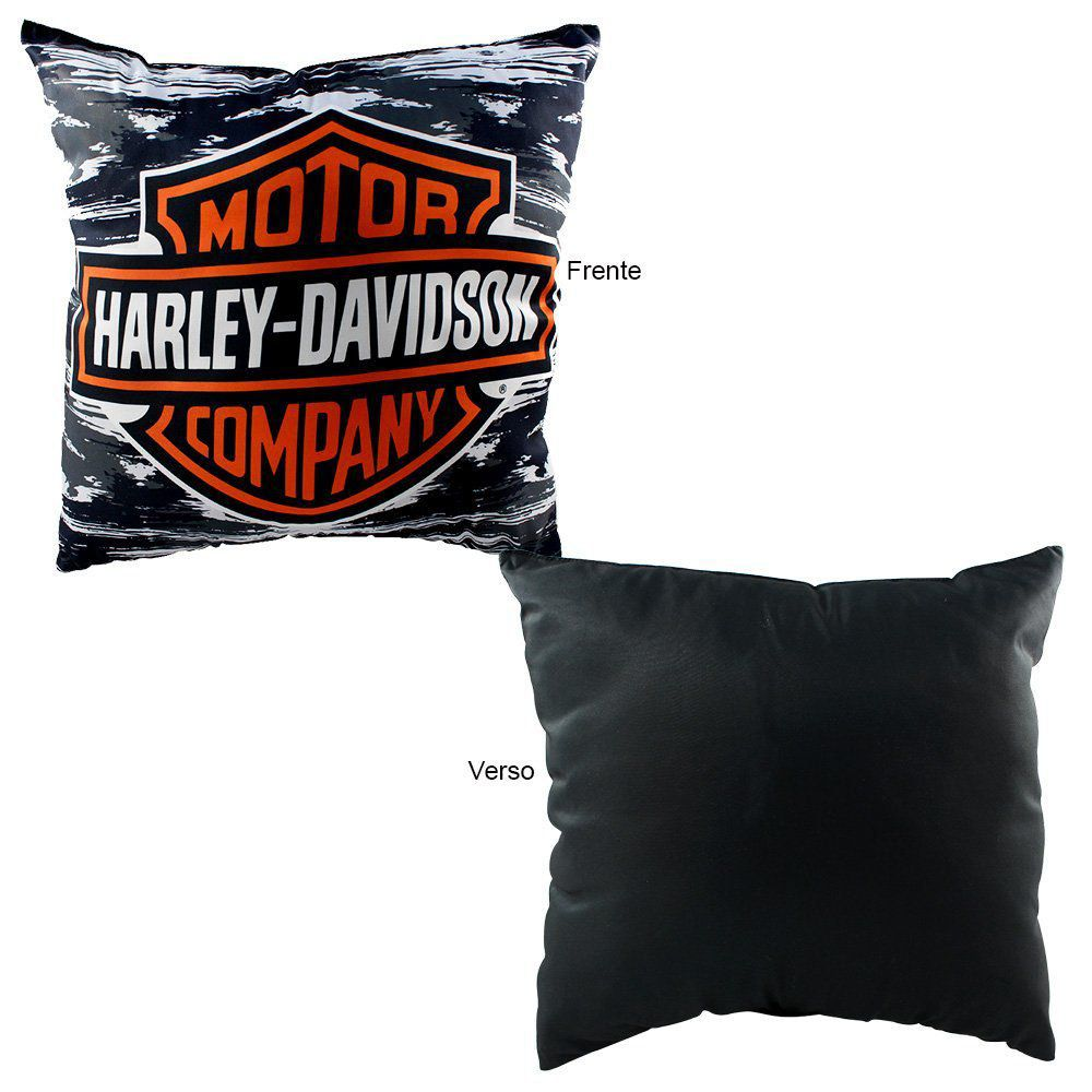 Almofada Decoração Harley Davison - Zonacriativa