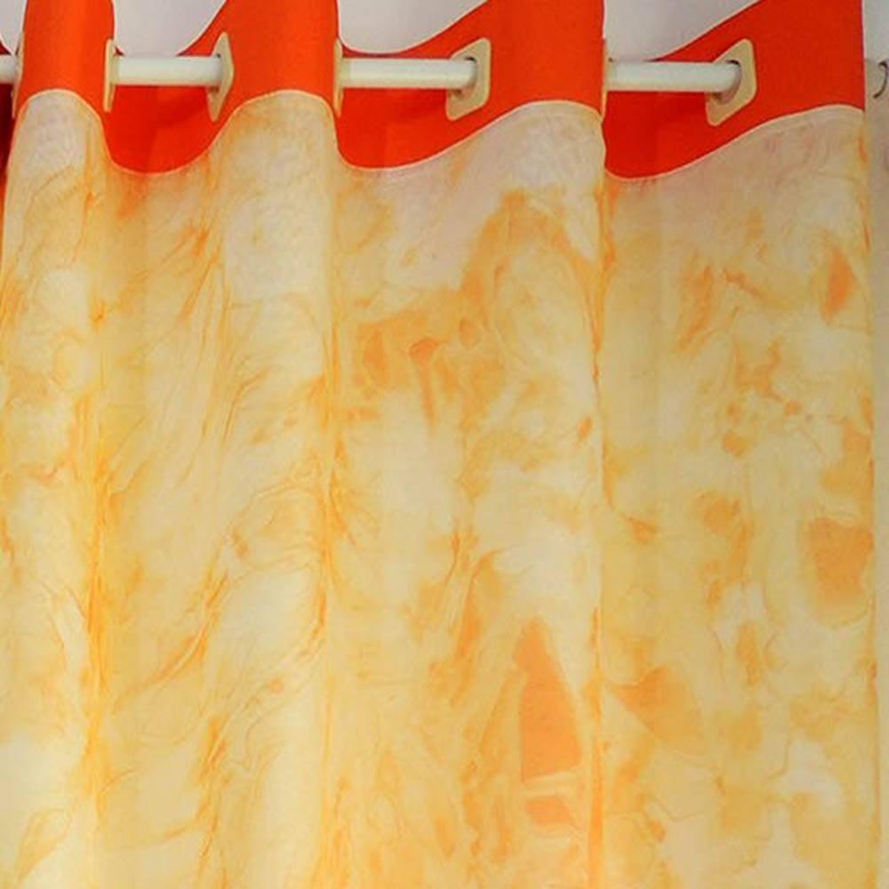 Cortina Duplex Brise Marmore Laranja 2,00m X 1,50m - Cortham