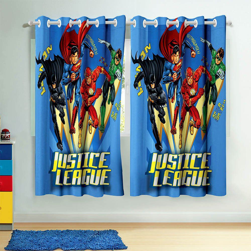 Cortina Estampada Liga da Justiça - Lepper