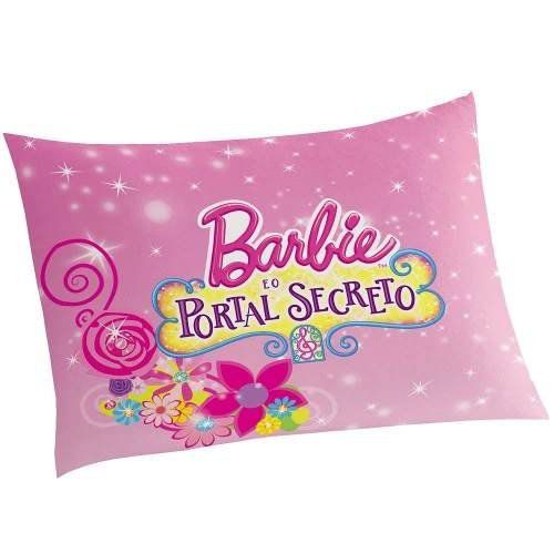 Fronha Infantil para Travesseiro Portal Secreto Barbie - Lepper