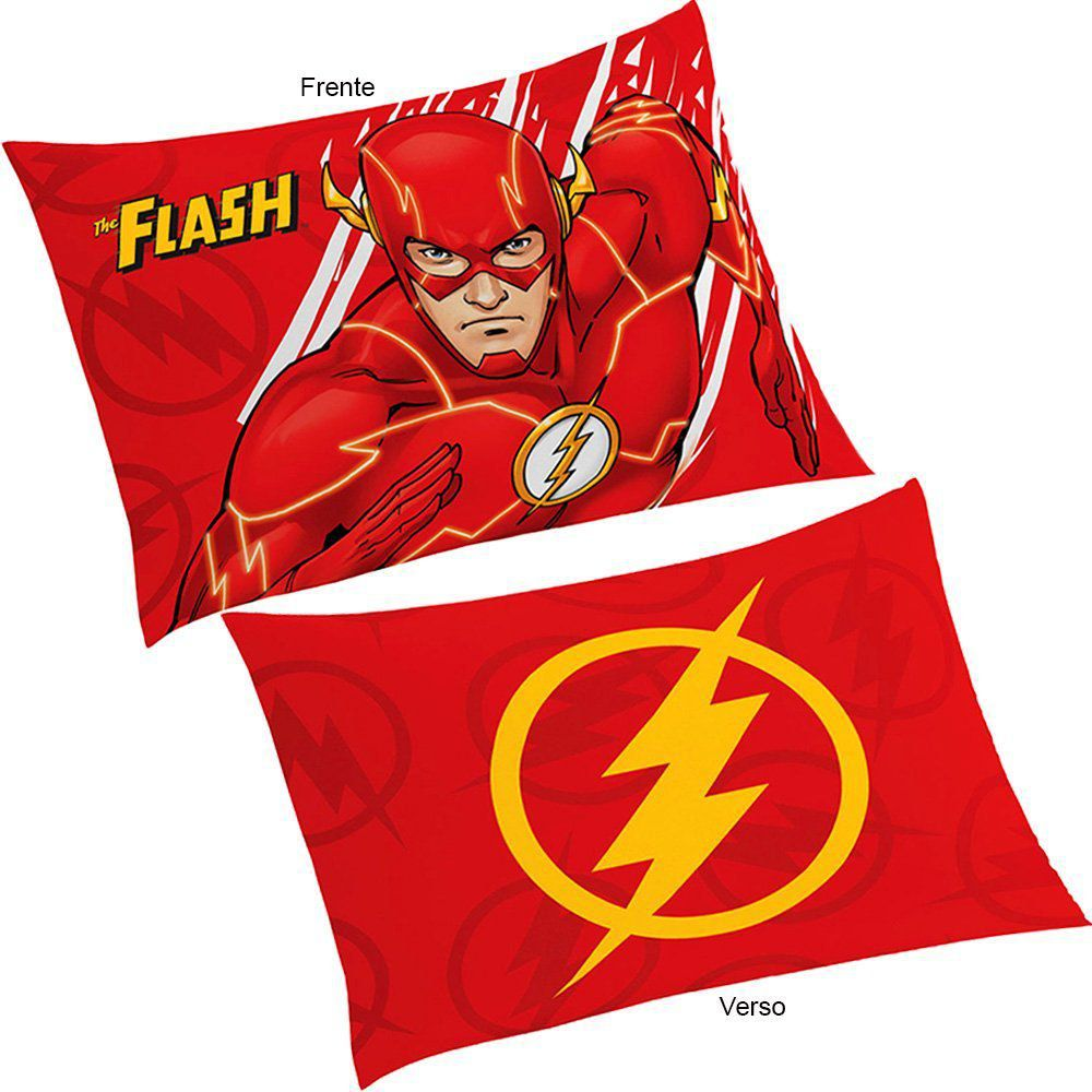 Fronha Infantil para Travesseiro The Flash - Lepper