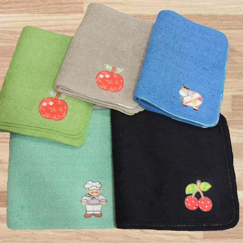 Kit de Tapetes para Cozinha 3 Peças Patchwork - Tapetes Miriam