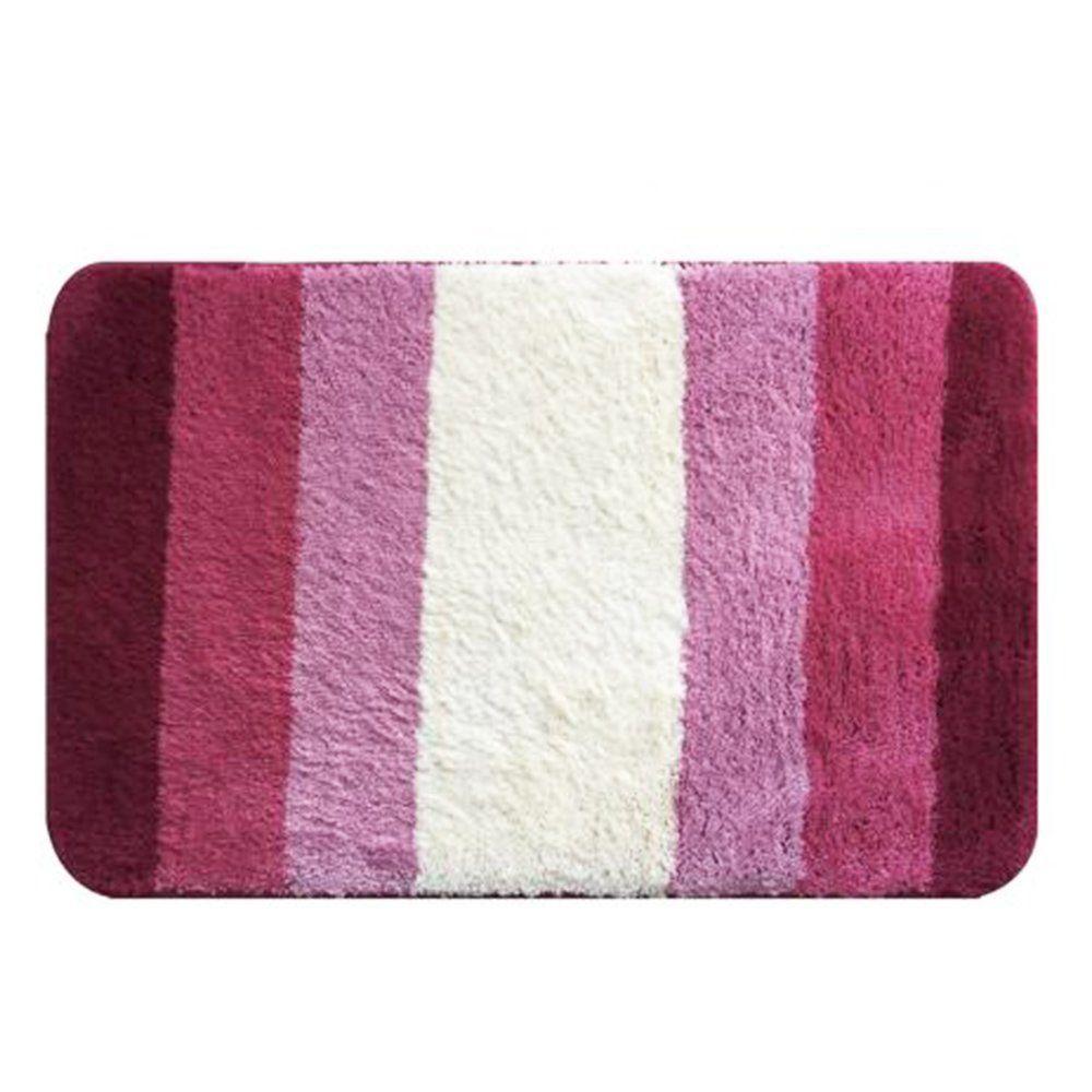 Tapete De Microfibra Soft Inspire 70cm x 45cm Rosa - Bella Casa