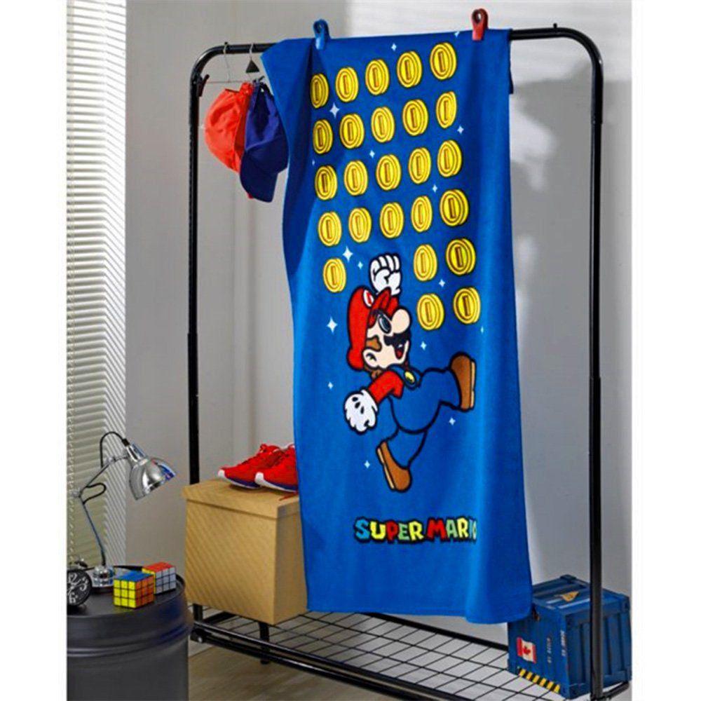 760b17a48219 Toalha Banho Aveludada Super Mario - Dholer