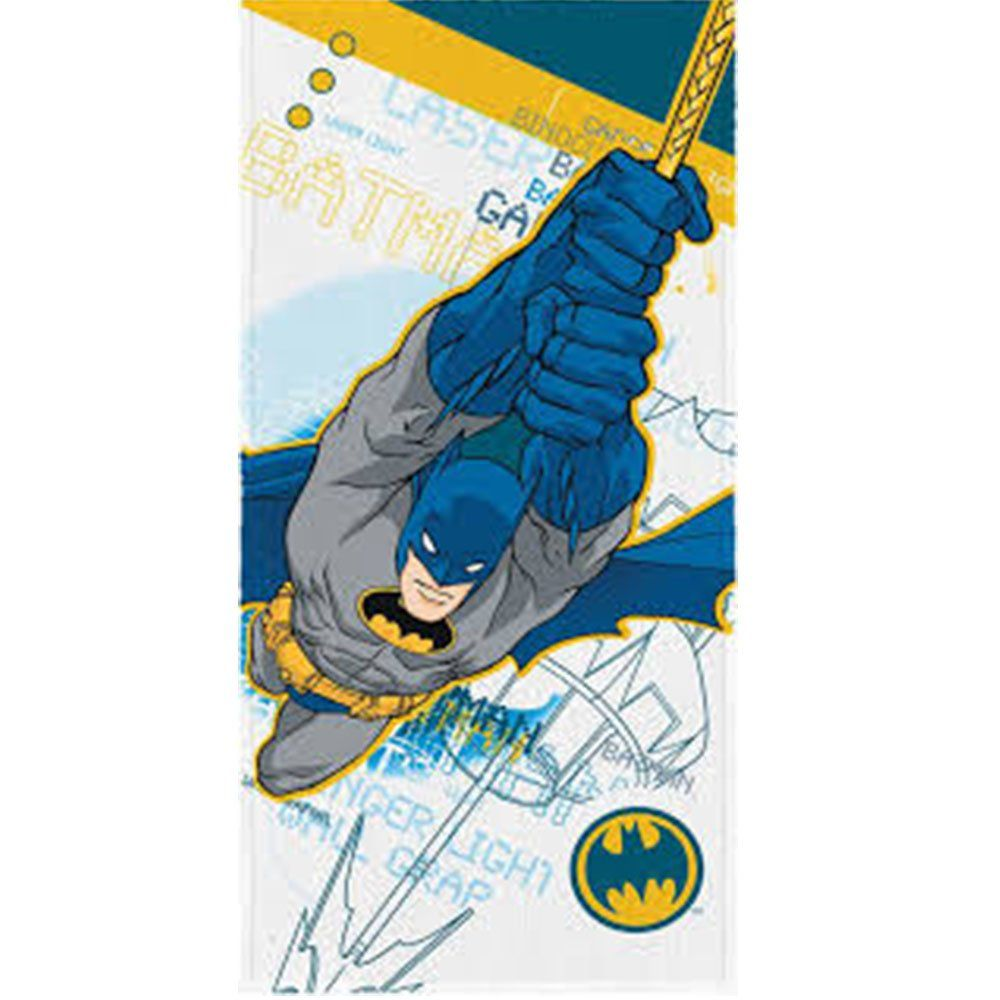 Toalha de Banho Felpuda Personagem Batman modelo 01- Lepper