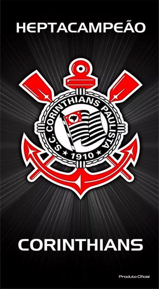 Toalha de Banho Aveludada Corinthians - Buettner