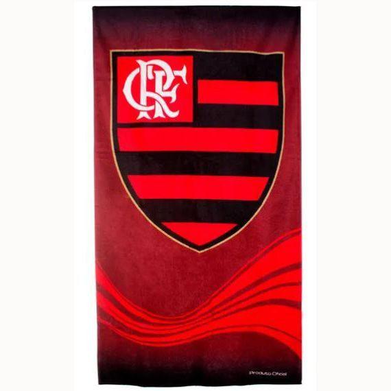 Toalha de Banho Aveludada Flamengo - Buettner