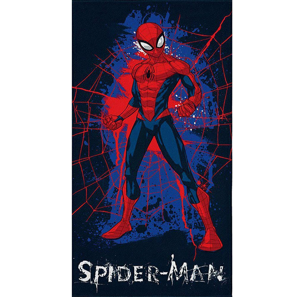 Toalha de Banho Aveludada Marvel Spider Man - Lepper