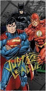 Toalha de Banho Felpuda Personagem Liga da Justiça - Lepper