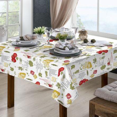 Toalha de mesa Classic 1,40m x 1,40m Temperos - Raner