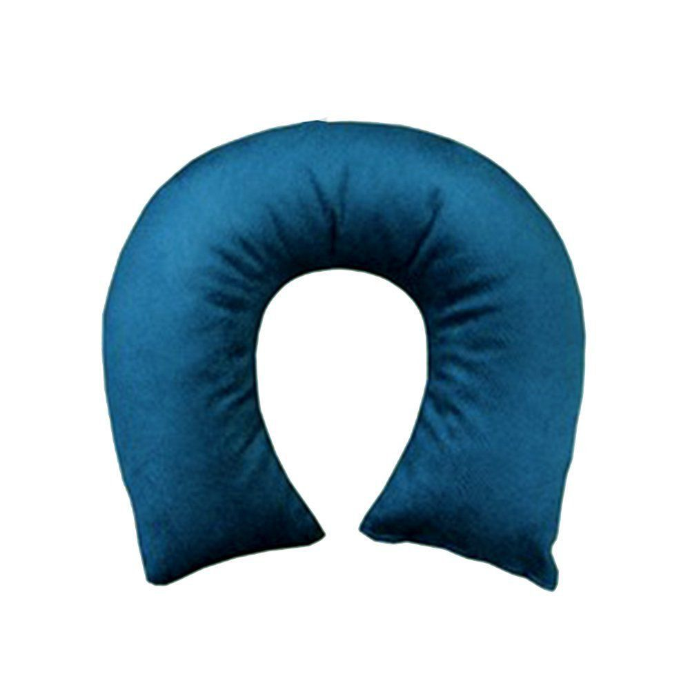 Travesseiro de Pescoço Camurça Teal - Hedrons