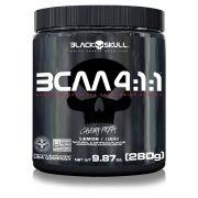 BCAA em pó 4:1:1 Black Skull 280g