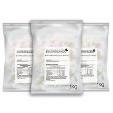 Bicarbonato de Sódio 3kg - Esverdeando