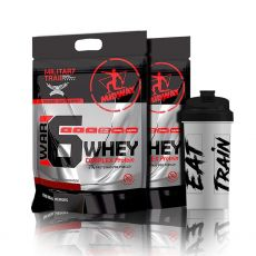 Combo 2x War 6 Complex Protein Military Trail 1,8kg + Coqueteleira - Midway