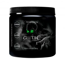 Gluta-C Glutamina + Vitamina C 300g - Possession Nutrition