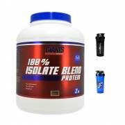 100% Isolate Blend Protein 2kg + Coqueteleira - Giants Nutrition