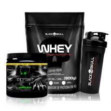 Kit Whey 900g + Pré Treino Depth-7 210g - Possession Nutrition