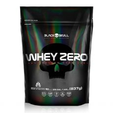 Whey Protein Zero Refil 837g - Black Skull