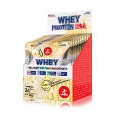 Whey USA caixa com 10 sachês de 30g - Midway