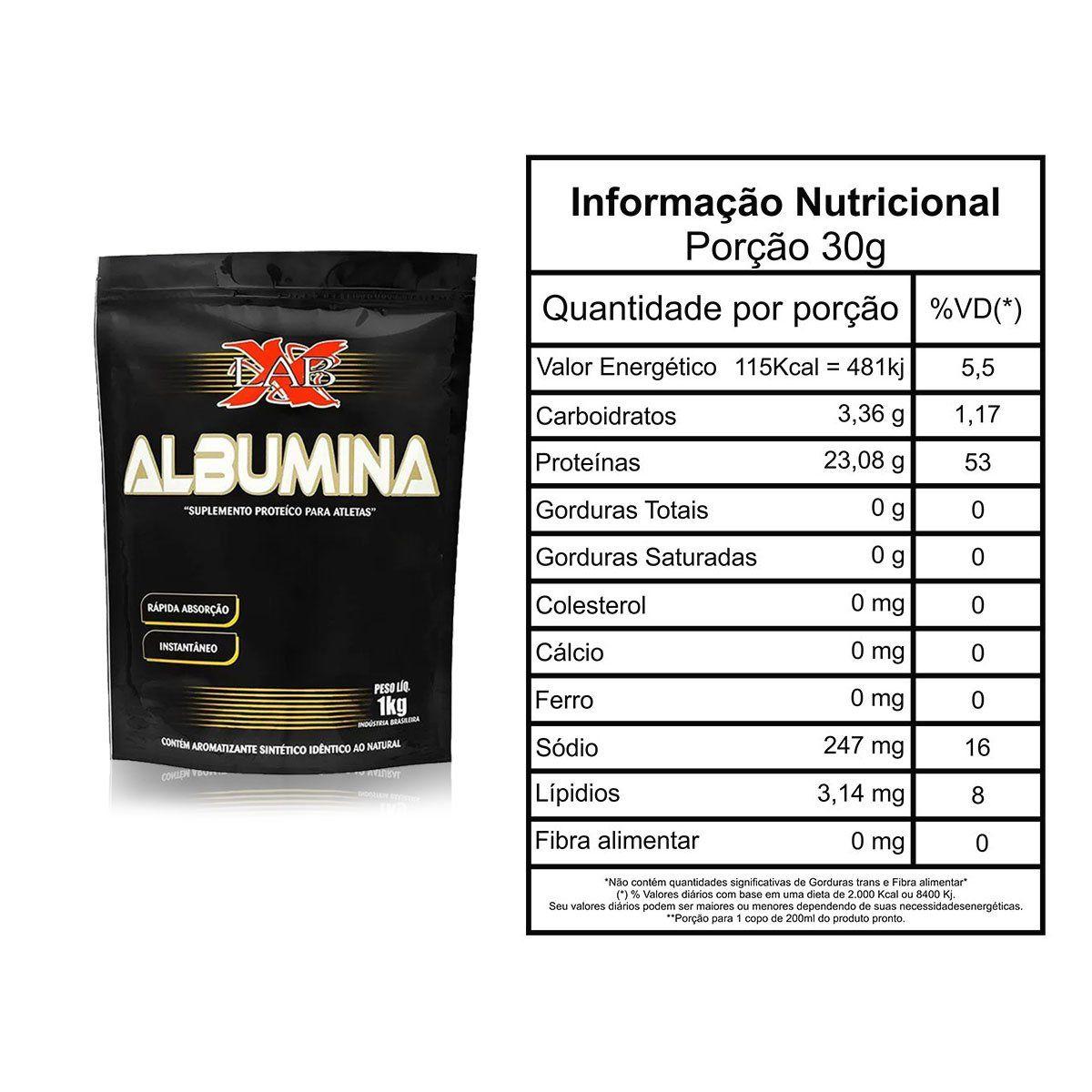 Albumina 1kg - Xlab